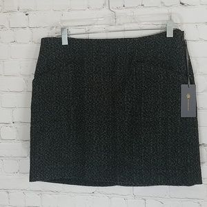 Outback Red green tweed skirt